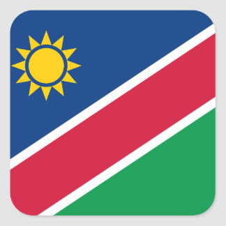 Namibia Square Sticker