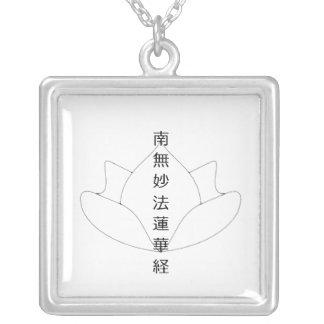 NamMyoHoRenGeKyo Lotus Necklace
