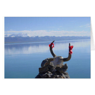 Namtso Lake Greeting Card
