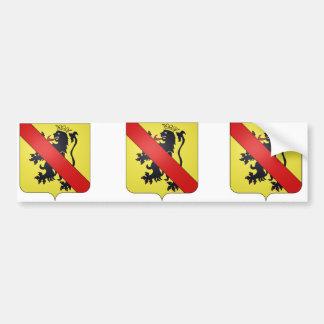 namur prov, Belgium Bumper Sticker