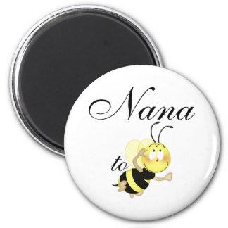 Nana 2 be 2 inch round magnet