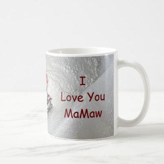 Nana Christmas - I Love You Penguin Coffee Mug