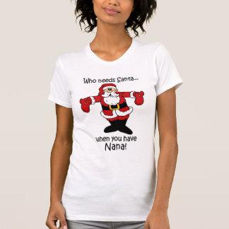 Nana Christmas t-shirt