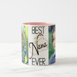 Nana Custom Photos Two-Tone Coffee Mug