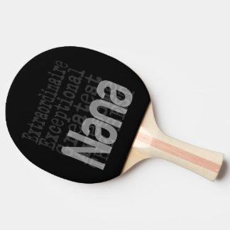 NaNa Extraordinaire Ping Pong Paddle