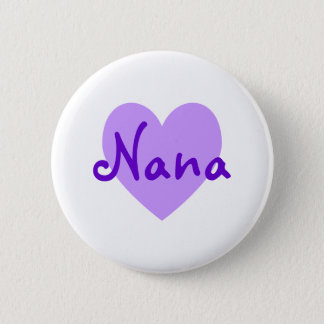 Nana in Purple 2 Inch Round Button