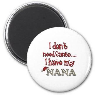 Nana is Santa Magnet