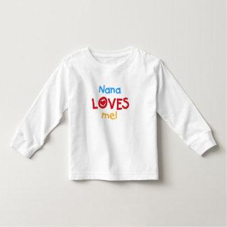 Nana Loves Me Toddler T-shirt