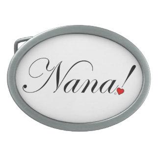 Nana! Oval Belt Buckle