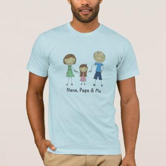 Nana Papa and Me t-shirt