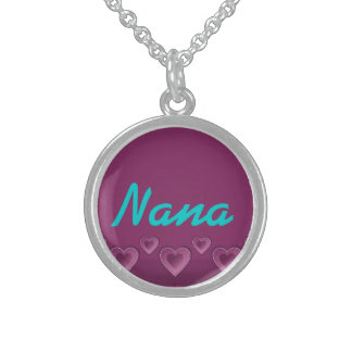 Nana Purple Hearts Necklace