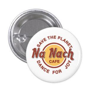 Nanach Cafe 1 Inch Round Button