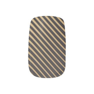 Naname Gold - Japanese traditional color Minx Nail Art