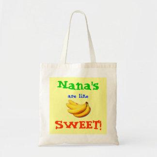 Nana's are like Banana's Tote Bag