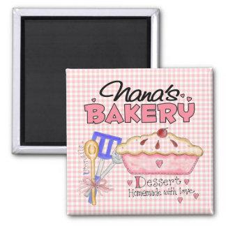 Nana's Bakery Magnet