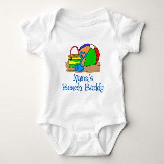 Nana's Beach Buddy Baby Bodysuit