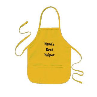 Nana's Best Helper Kids Apron