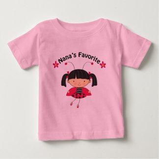 Nanas Favorite Girls Gift Baby T-Shirt