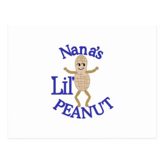 Nana's Lil' Peanut Postcard