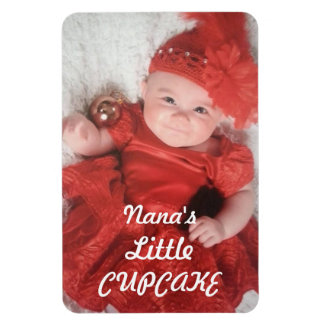 Nana's Little Cupcake Premium Photo Magnet