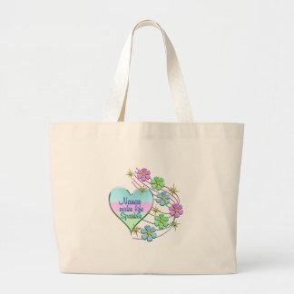 Nanas Make Life Sparkle Large Tote Bag