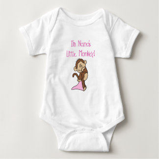Nana's Monkey - Pink T-shirts and Gifts