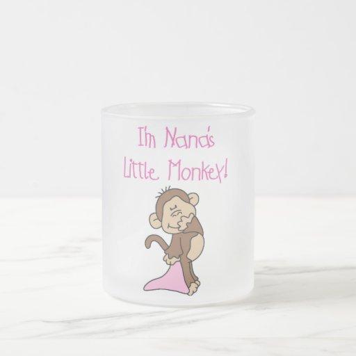 Nana's Monkey - Pink T-shirts and Gifts Mugs