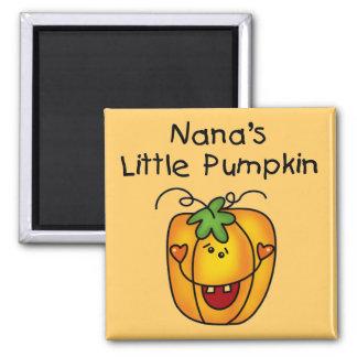 Nana's Pumpkin Halloween T-shirts and Gifts Magnet