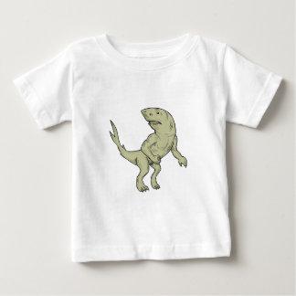 Nanaue Fighting Stance Drawing Baby T-Shirt