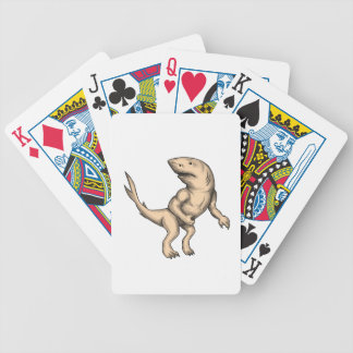 Nanaue Fighting Stance Tattoo Bicycle Playing Cards