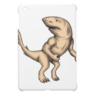 Nanaue Fighting Stance Tattoo iPad Mini Covers