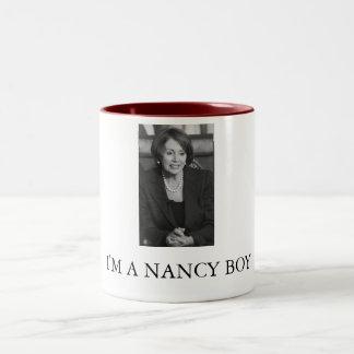 Nancy Boy Two-Tone Coffee Mug