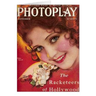 Nancy Carroll movie magazine cover Card