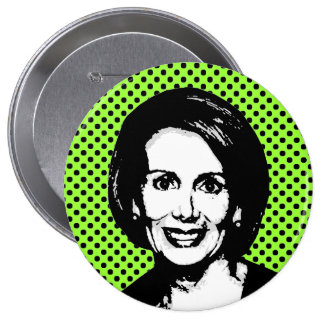 Nancy Pelosi 2 4 Inch Round Button