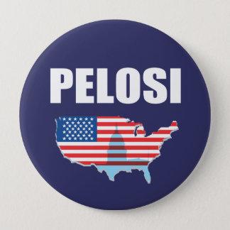 NANCY PELOSI Election Gear 4 Inch Round Button
