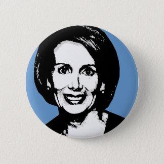 Nancy Pelosi Gear 2 Inch Round Button