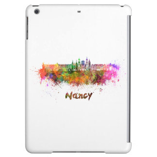 Nancy skyline in watercolor iPad air case