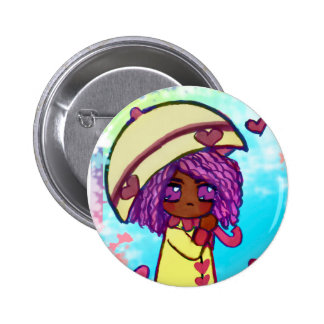 Nandi in the Rain 2 Inch Round Button