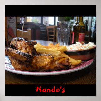 nando's, Nando's Poster