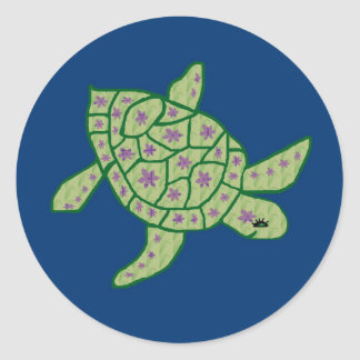 Nani Honu (Beautiful sea turtle) stickers
