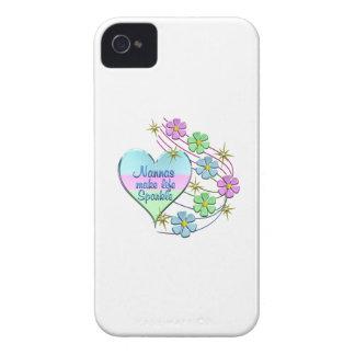 Nannas Make Life Sparkle iPhone 4 Case