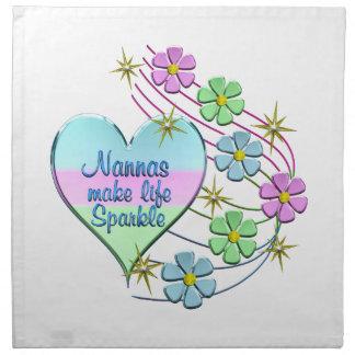 Nannas Make Life Sparkle Napkin