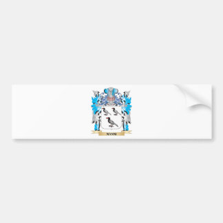 Nanni Coat of Arms - Family Crest Bumper Stickers