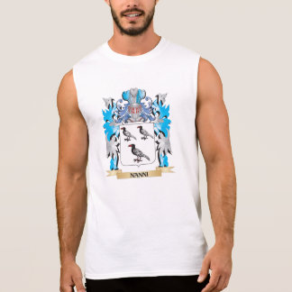 Nanni Coat of Arms - Family Crest Sleeveless T-shirt