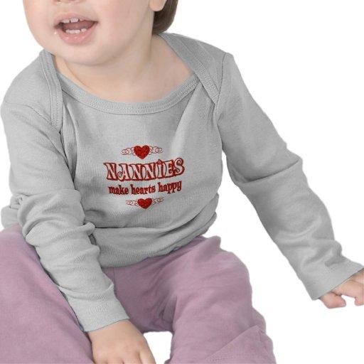 Nannie Hearts Tee Shirt