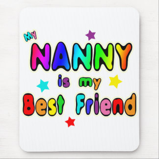 Nanny Best Friend Mouse Pad