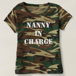 Nanny in Charge T-shirt