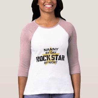 Nanny Rock Star by Night T-Shirt