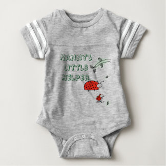 Nanny's little helper Lady bug cool custom shirt