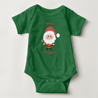 Nanny's Little Helper Vest Baby Bodysuit